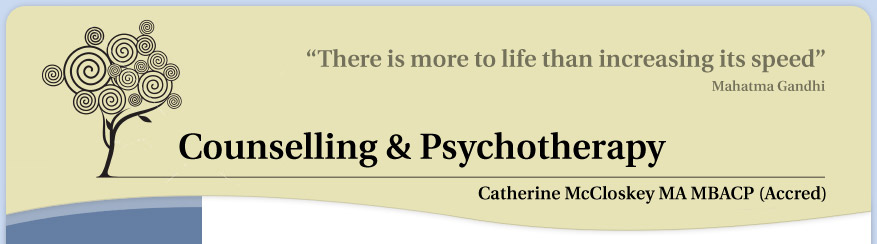 Catherine McCloskey - Counselling & Psychotherapy